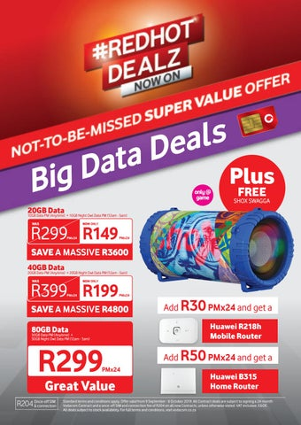 Game Sa Vodacom Big Data Deals 9 September To 6 October 2019 By Game Stores Issuu