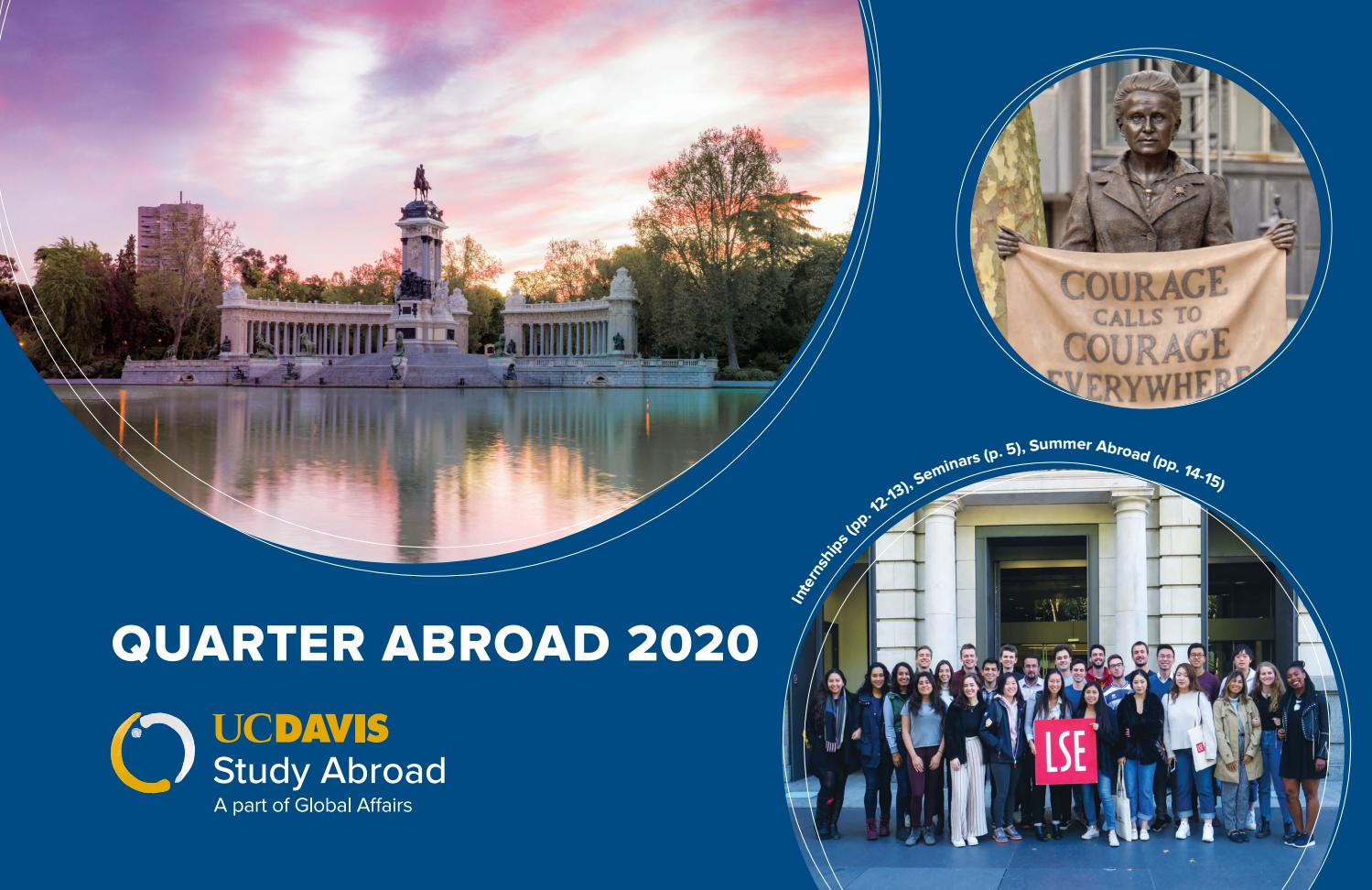 International Affairs Internships Summer 2020.Uc Davis Quarter Abroad 2020 Brochure By