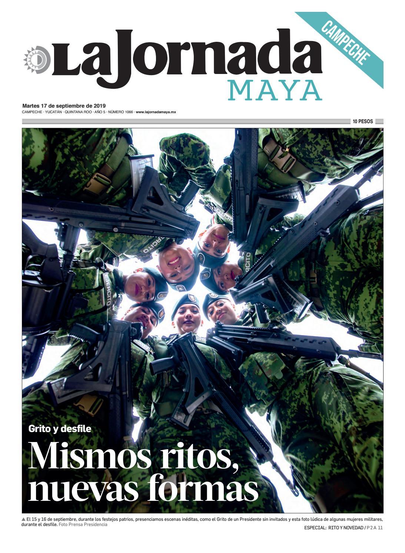 La Jornada Maya Campeche Martes 17 De Septiembre De 2019