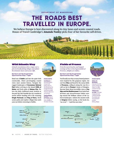 Page 18 of The Roads best travelled in Europe.