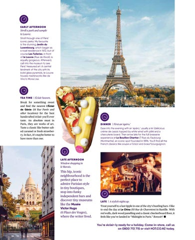 Page 23 of 24 hours in Paris.