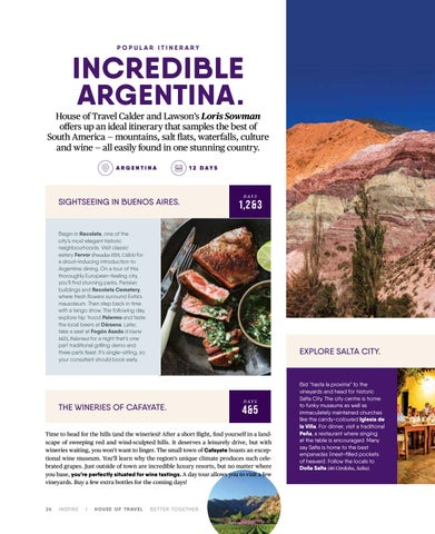 Page 26 of Incredible Argentina.