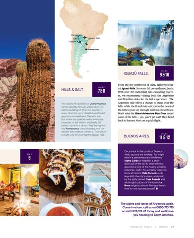 Page 27 of Incredible Argentina.