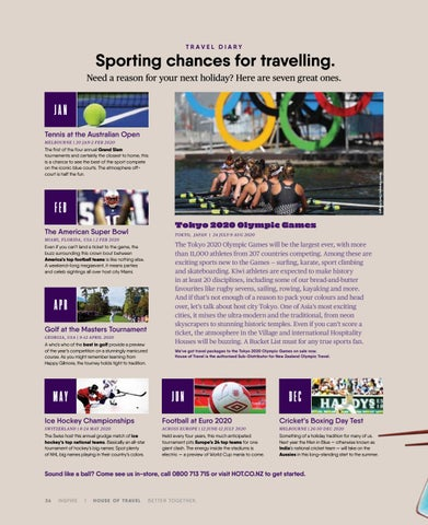 Page 36 of Sporting chances for travelling.