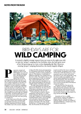 Page 22 of Birthdays are for Wild Camping