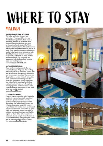 Page 40 of Where To Stay in Malindi