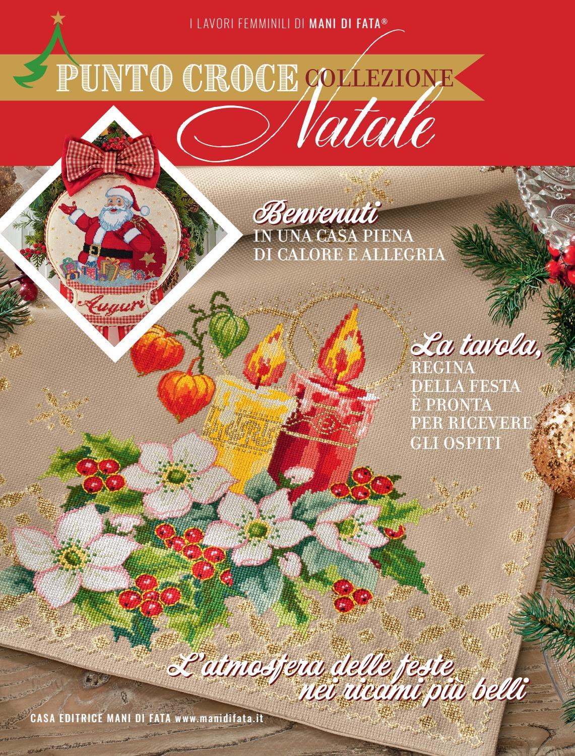 Piccolo Schemi Punto Croce Natale.Punto Croce Collezione Natale C8collpcn By Mani Di Fata Issuu