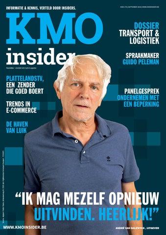 KMOinsider magazine editie september 2019 by kmodynamoo issuu