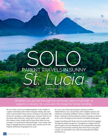 Page 42 of SOLO PARENT TRAVELS IN SUNNY St. Lucia