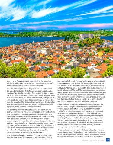 Page 47 of Jumping in to Explore the Coast of Croatia