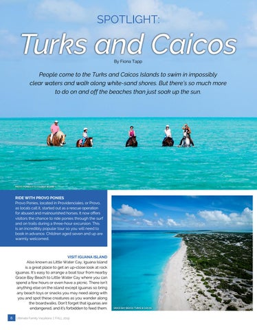 Page 8 of Spot Light: Turks and Caicos