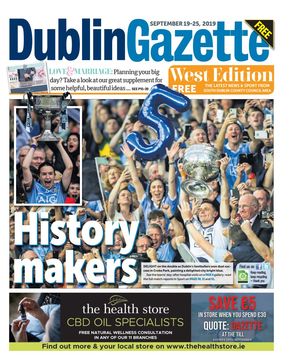 Dublin Gazette West Edition By Dublin Gazette Issuu