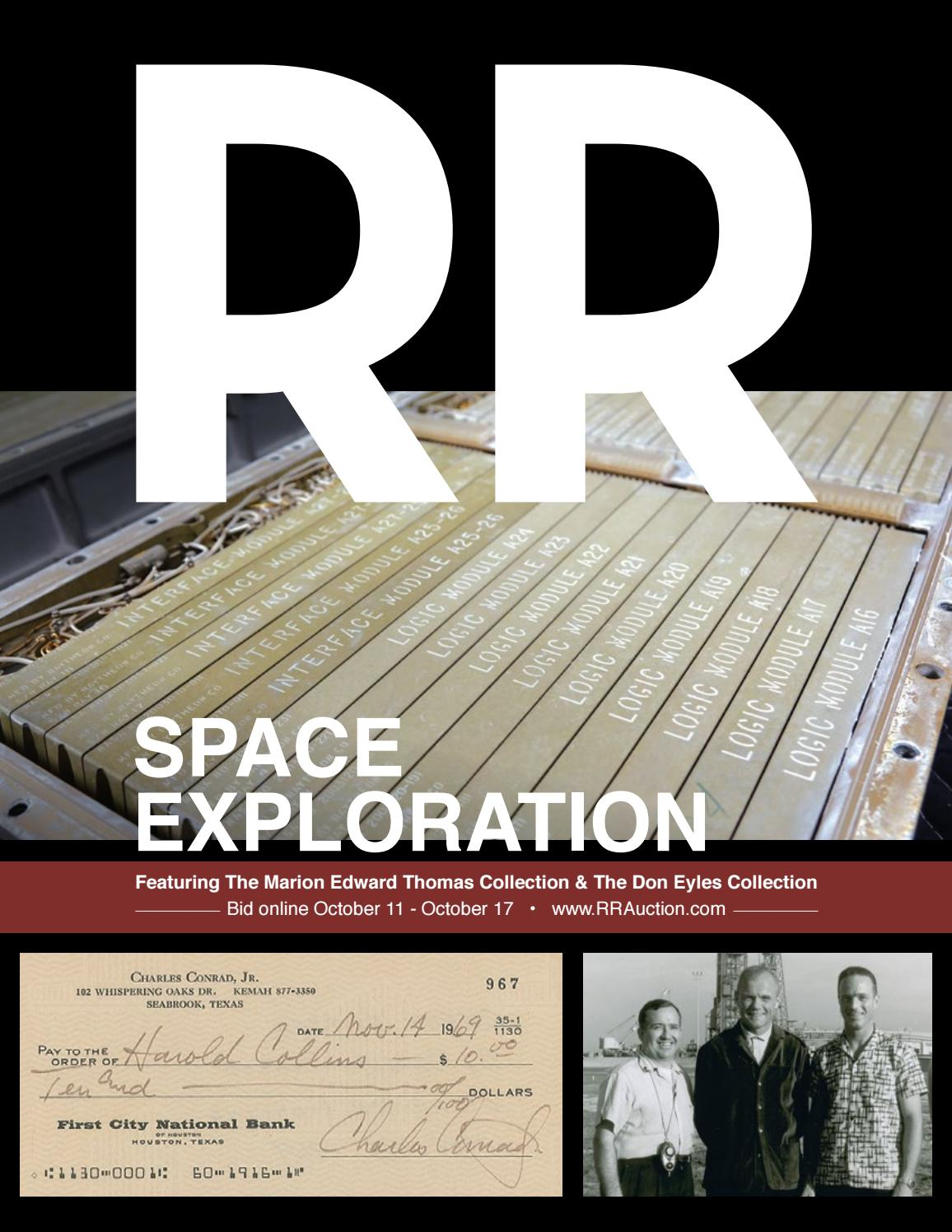 Rr Auction Space Exploration By Rr Auction Issuu