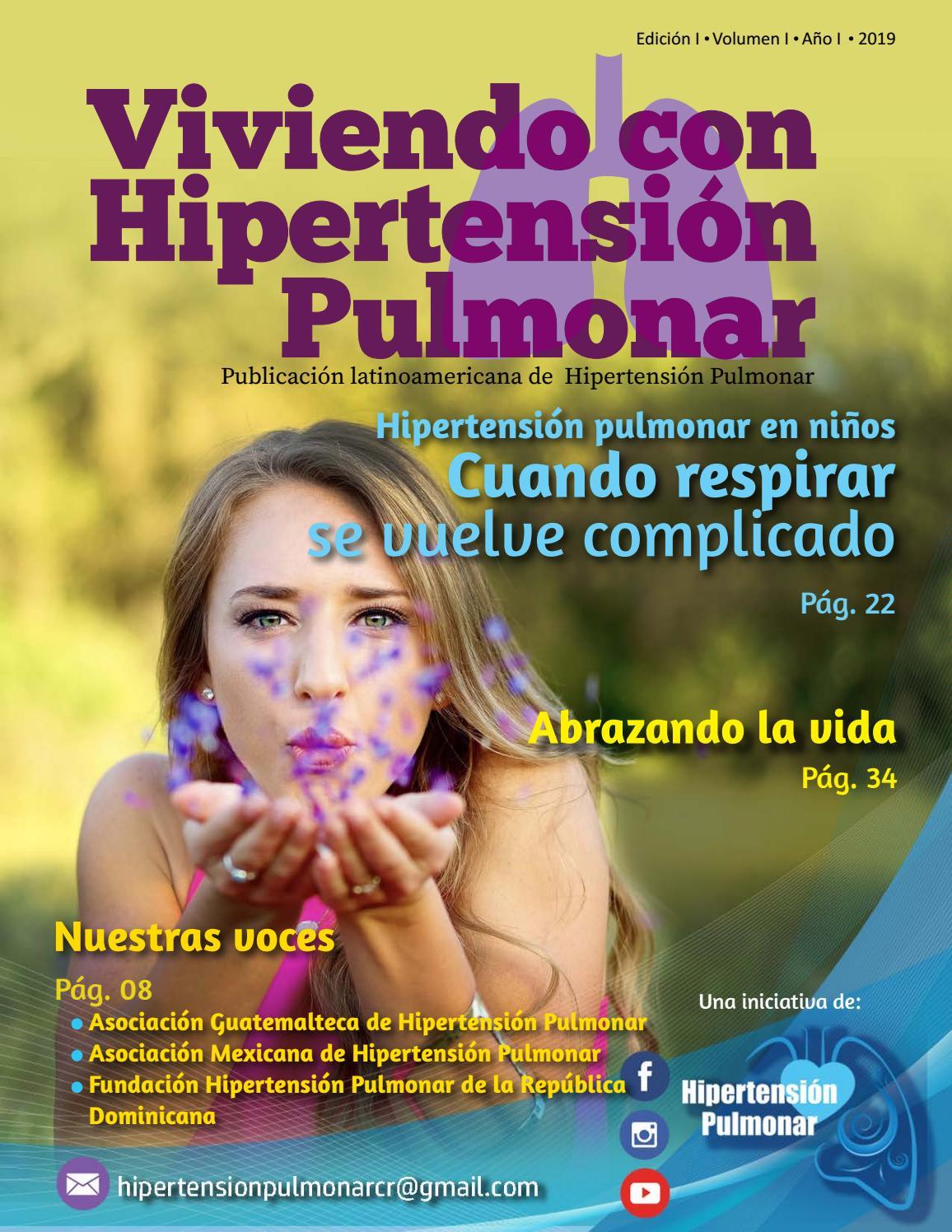 Hipertensión pulmonar y dolor en el pecho derecho