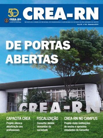 Revista Crea Rn 50 Anos 2019 By Faça Comunicação E Design