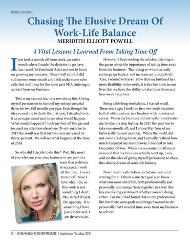 Page 10 of Chasing The Elusive Dreams Of Work-Life Balance