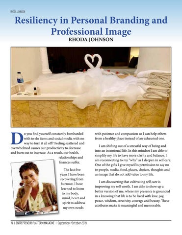 Page 14 of Resiliency In Personal Branding And Professional Image