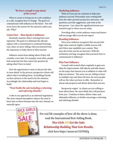 Page 5 of How To Communicate To Influence