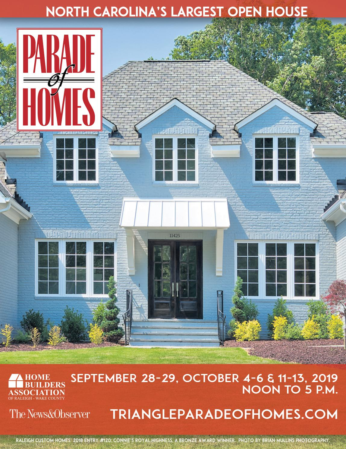 2019 Parade Of Homes North Carolina S Largest Open House By Triangle Today Issuu