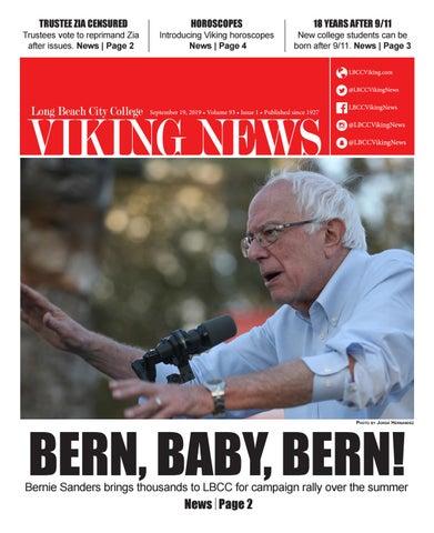 Lbcc Summer 2020.Viking News September 19 2019 Issue 1 By Lbcc Viking News