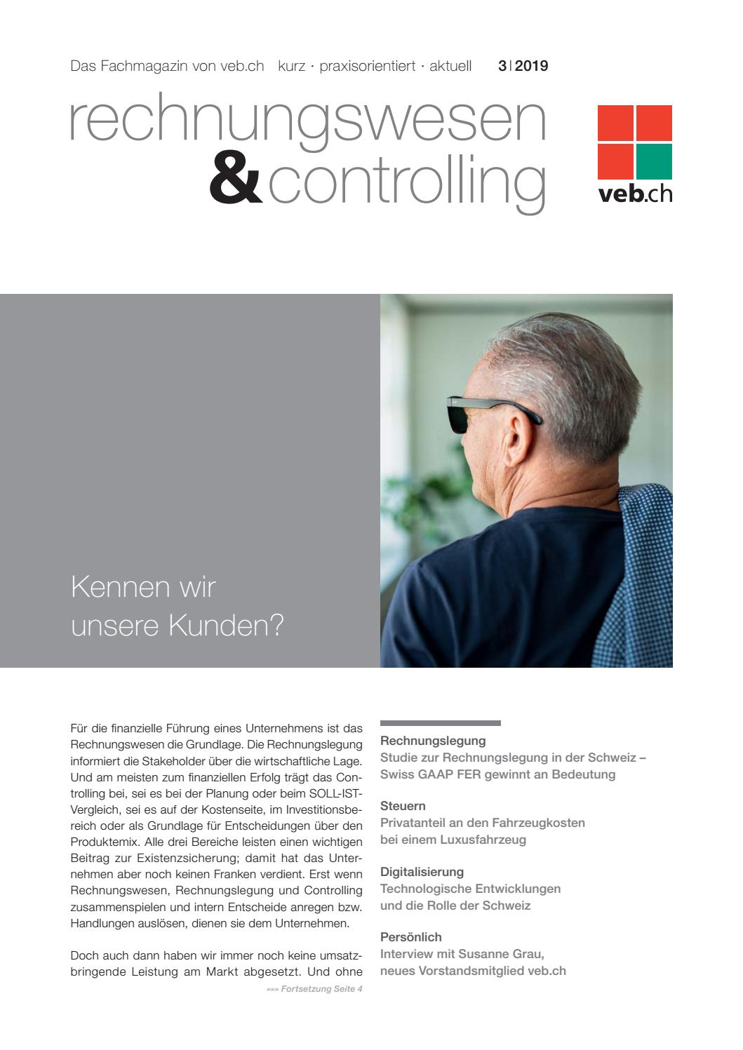Rechnungswesen Controlling 03 19 By Site To Publish Issuu