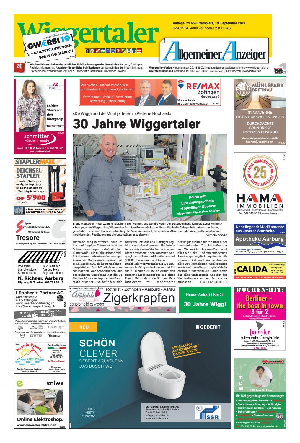 Wiggertaler 3819 by ZT Medien AG issuu