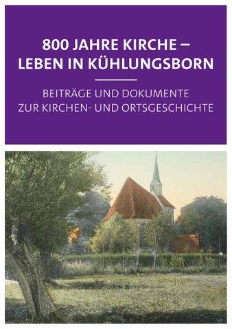 Kompendium 800 Jahre Kirche Leben In Kühlungsborn By