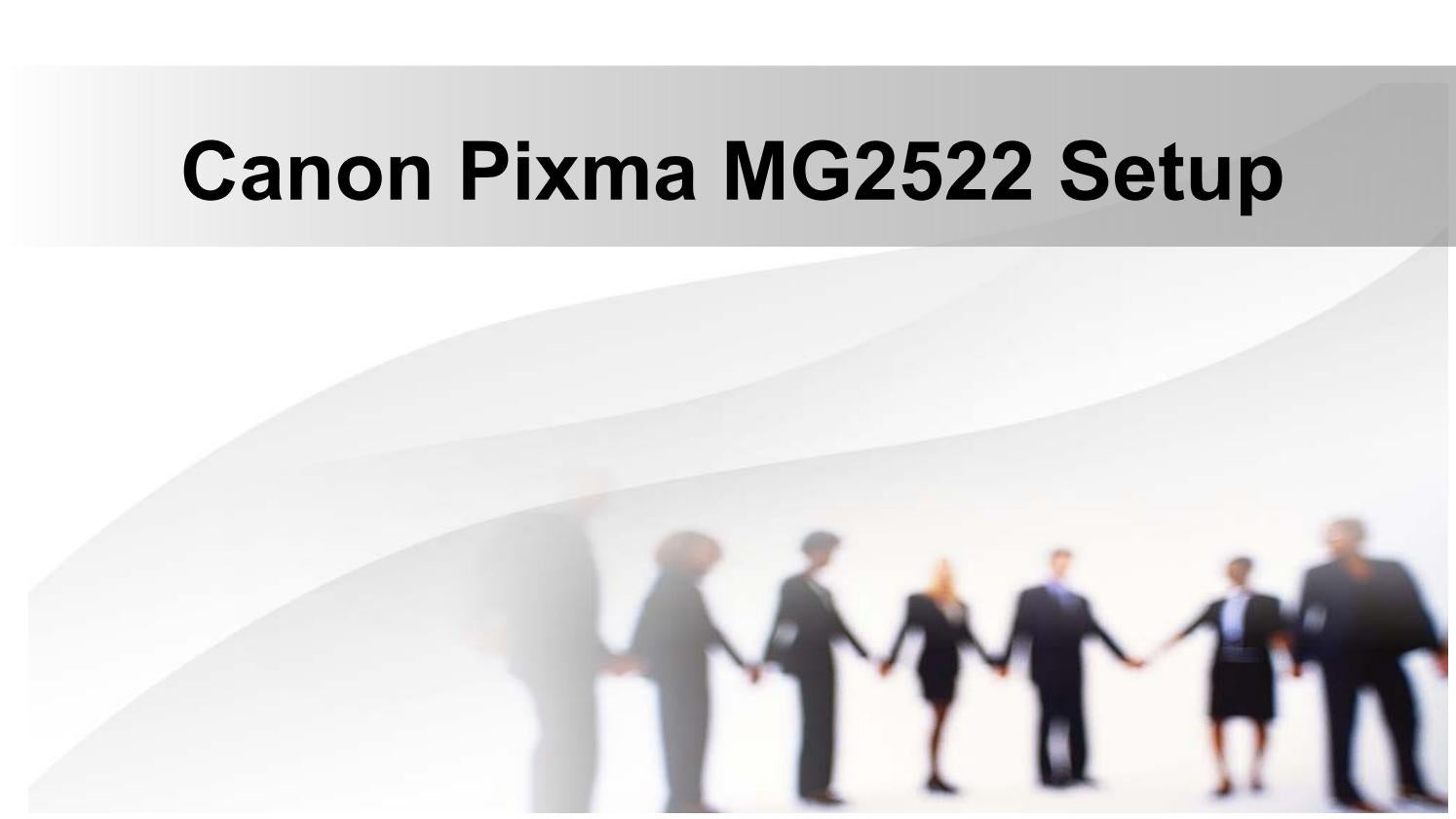 Canon Pixma mg20 Setup and Driver Installation   Printer Setup ...