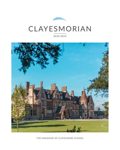 Clayesmorian Magazine By Shelleys The Printers Ltd Issuu
