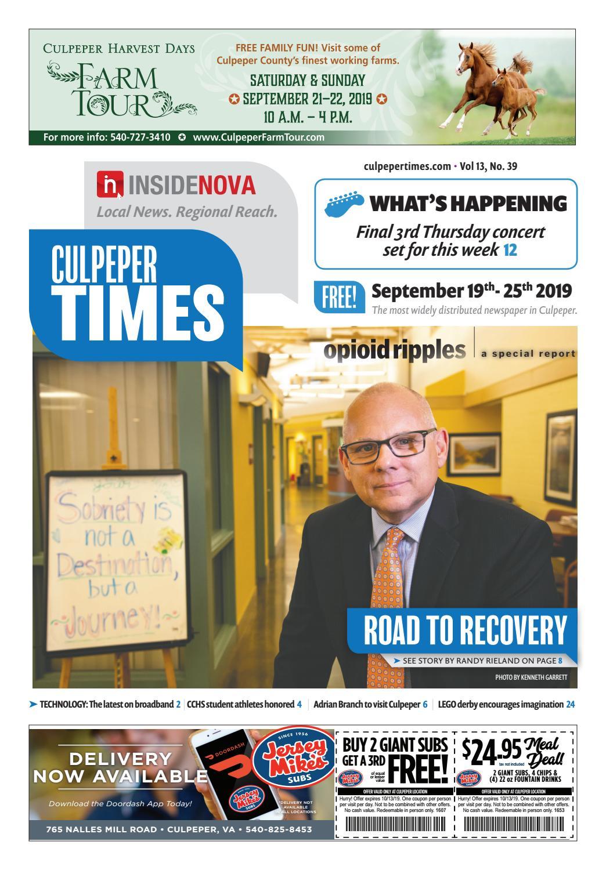 Culpeper Times Sept 19 25 By Insidenova Issuu
