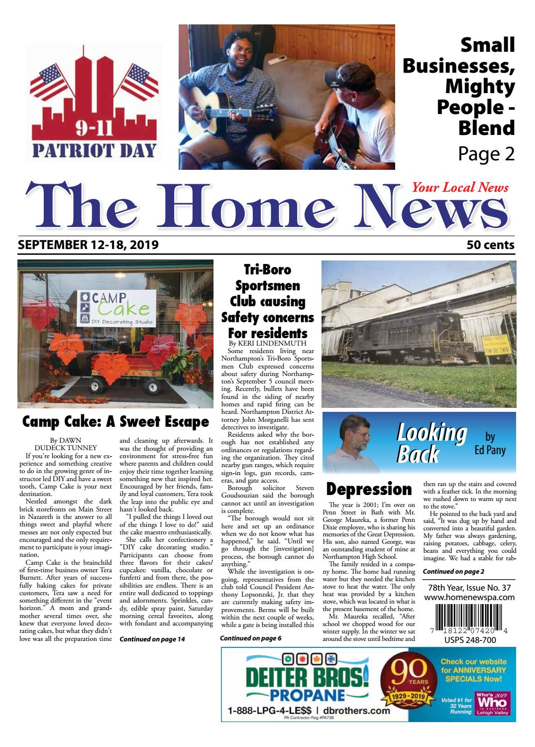 The Home News September 12 By Innovative Designs Publishing Inc
