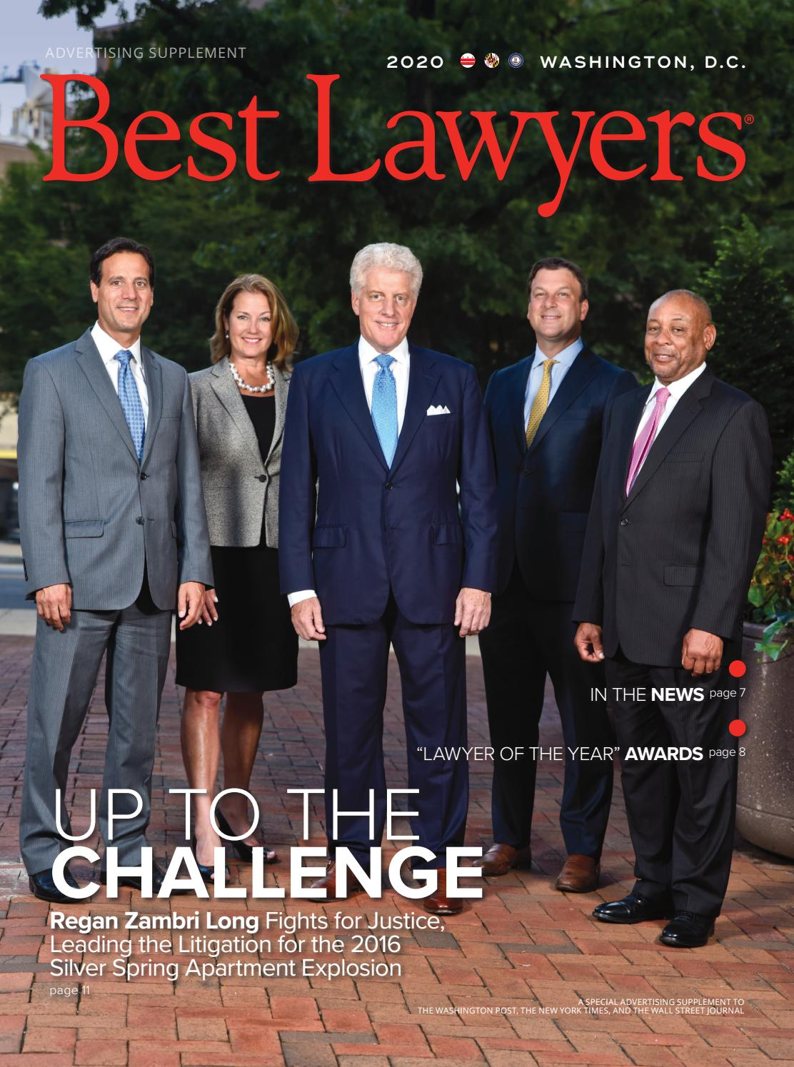 Best Lawyers In D C 2020 By Best Lawyers Issuu