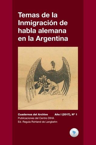 Cuaderno Del Centro Diha N1 Temas De La Inmigración De
