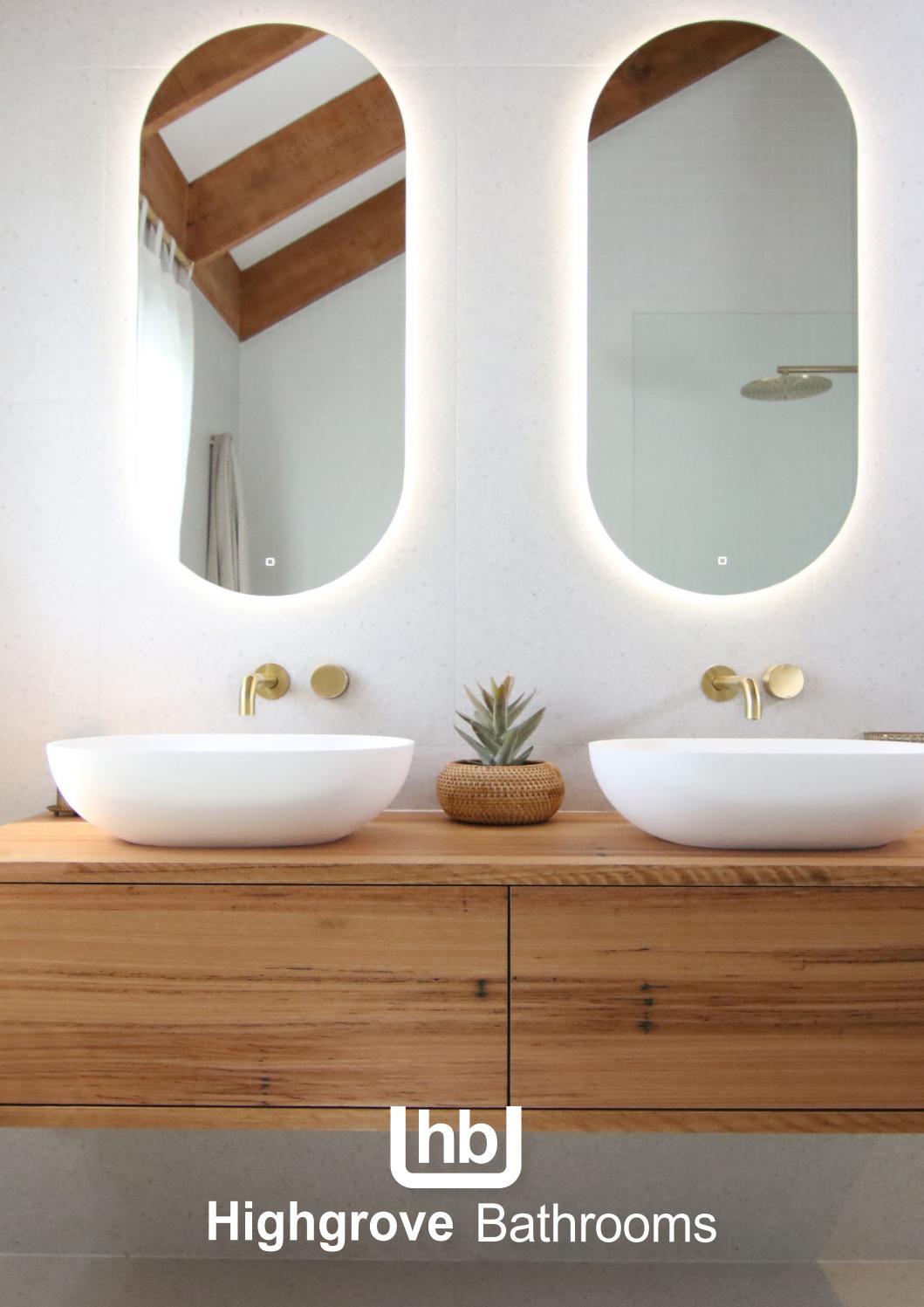 Bathroom Round Single Towel Rail 750mm Wall Mounted Brass Chrome