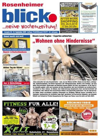 Rosenheimer blick Ausgabe 38 | 2019 by Blickpunkt Verlag