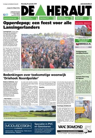 De Heraut week 38 2019 by Nieuwsblad De Heraut issuu