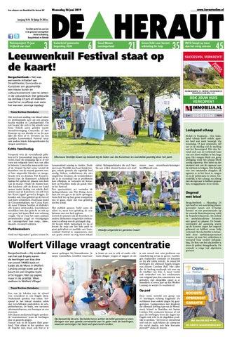 Kelsyus Strandstoel Met Luifel.De Heraut Week 26 2019 By Nieuwsblad De Heraut Issuu