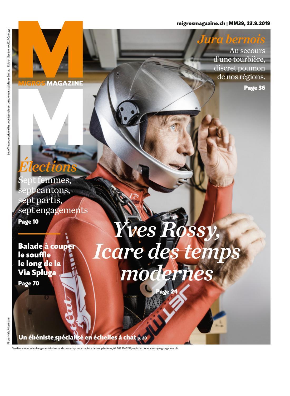 Migros Magazin 39 2019 f GE by Migros Genossenschafts Bund