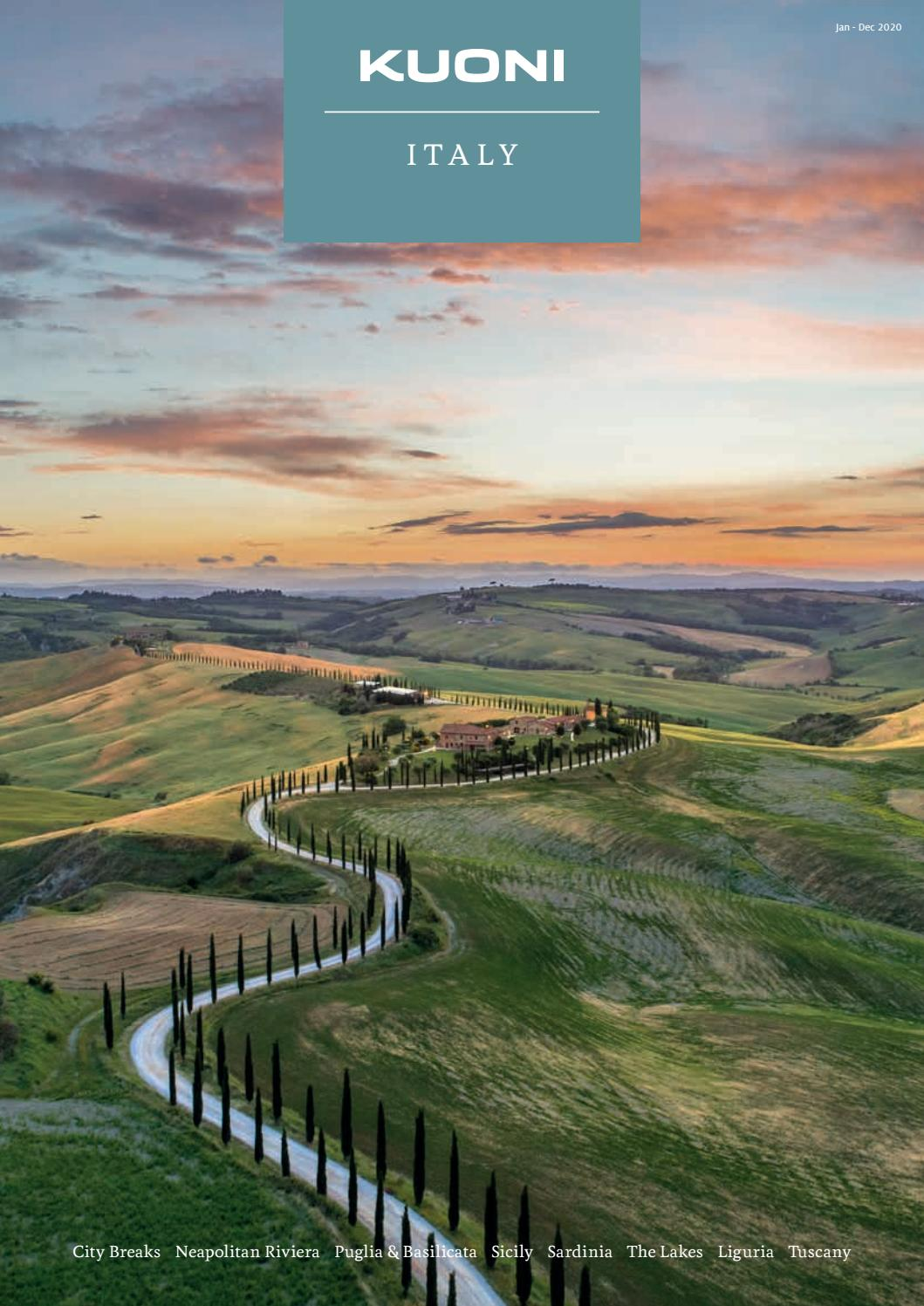 Kuoni Italy By Travel Designers Issuu