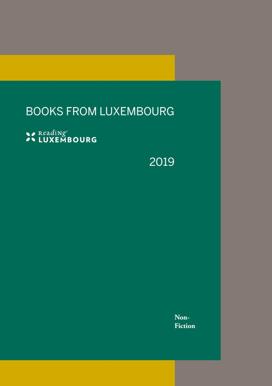 Reading Luxembourg Books 2019 Non From HWID2E9