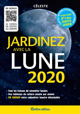 Calendrier Lunaire Mars 2020.Jardinez Avec La Lune 2020 By Fleurus Editions Issuu