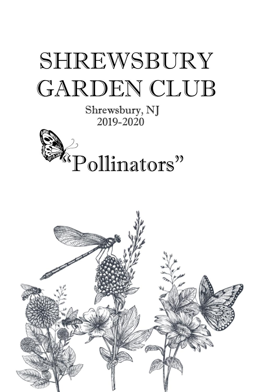 Butterfly Release 2020 Fair Lawn Nj.Shrewsbury Garden Club Yearbook 2019 2020 By Sberdahl Issuu