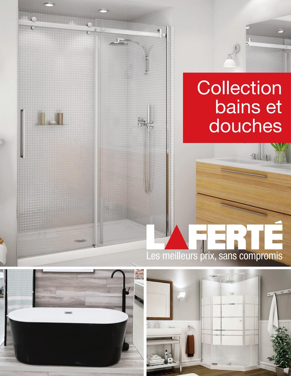 Silicone Acrylique Pour Salle De Bain laferté cahier douches et bainscentre de rénovation