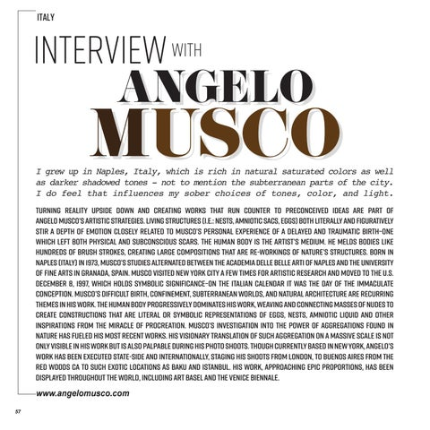 Page 58 of Interview | Angelo Musco