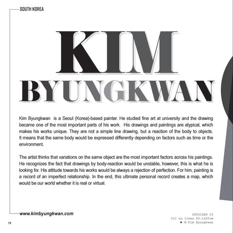 Page 76 of Featured Artist | Byungkwan KIM