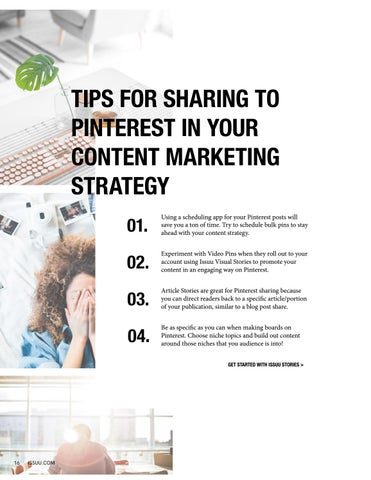 Page 16 of Sharing Issuu to Pinterest