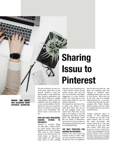 Page 17 of Sharing Issuu to Pinterest