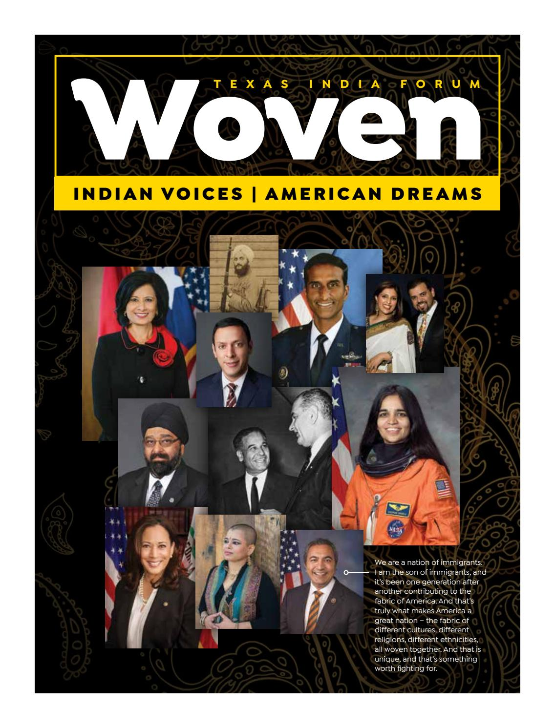 Woven Indian Voices American Dreams By Envision Custom Publications Issuu