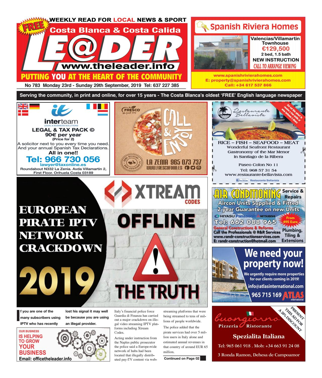 The Leader Newspaper Edition 783 by The Leader - issuu