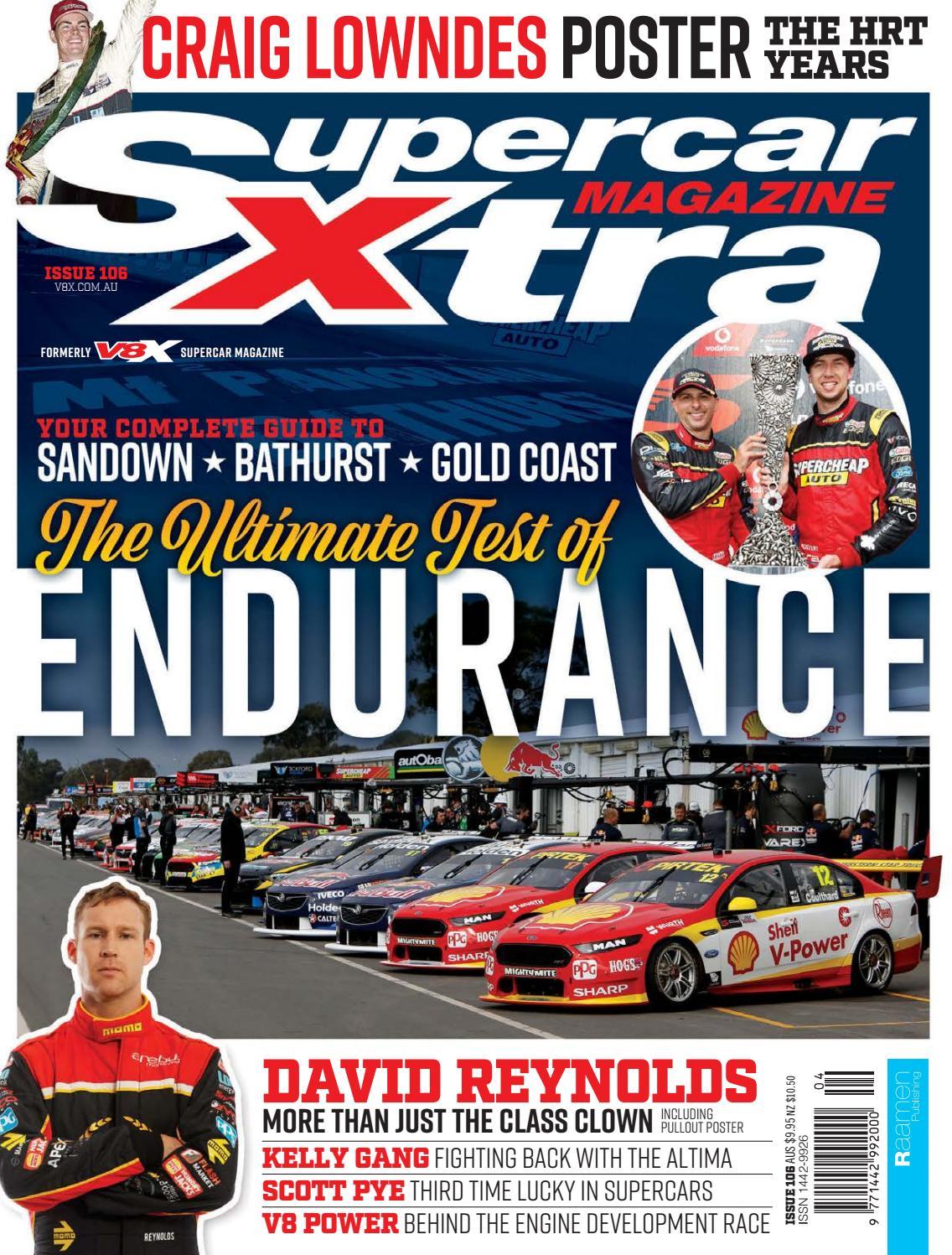 Castrol Racing Super Team Poster 97 Larry Perkins Russell Ingall Tony Longhurst